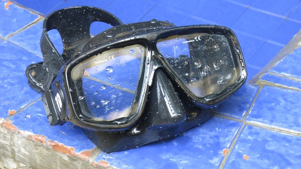 Two Window Scuba Diving Mask